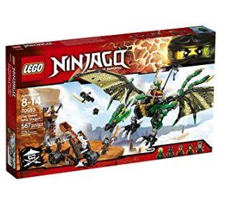LEGO 乐高 Ninjago 70593幻影忍者系列 忍者绿神龙 47.97加元,原价 65加元,包邮