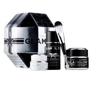 GLAMGLOW 黑罐抗衰老发光面膜套装 76加元,价值 143加元,包邮