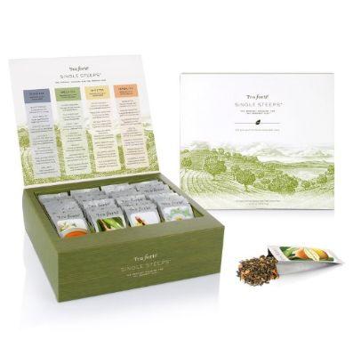 Tea Forte 红茶+绿茶+白茶+草药茶套装 23.8加元限量特卖(28包),原价 35.65加元