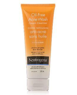 Neutrogena 露得清无油痤疮洁面乳 6.67加元,原价 9.59加元