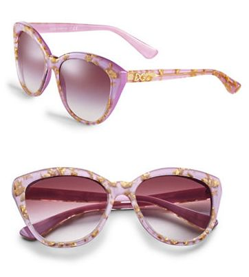 俏皮又可爱!DOLCE & GABBANA紫色太阳镜 156加元,原价 260加元,包邮