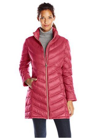 Calvin Klein 女式时尚中长羽绒服 66.55加元(加小号),原价 129.99加元,包邮
