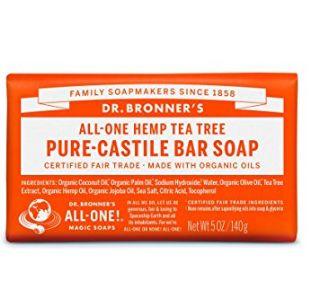 北美最畅销的天然肥皂品牌!Dr. Bronner 有机茶树皂 5.43加元,原价 13加元