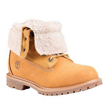 TIMBERLAND 添柏岚 Authentics 真皮羊毛黄靴 74.25加元(7-8.5码),原价 165加元