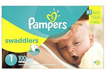 Pampers 帮宝适 Swaddlers 婴幼儿尿不湿/纸尿裤(1-5号) 15.39-18.84加元!