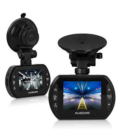 手慢无!AUSDOM AD170 Car DVR 高清行车记录仪 25.06加元限量销售,原价 72.99加元