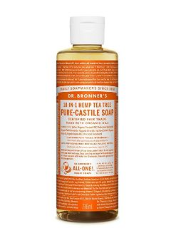 全天然有机液体皂!Dr. Bronner's 有机茶树肥皂液 8.97加元,原价 16加元