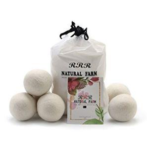 RRR Natural Farm 6pcs 純天然衣物烘乾羊毛球 18.81加元特賣!