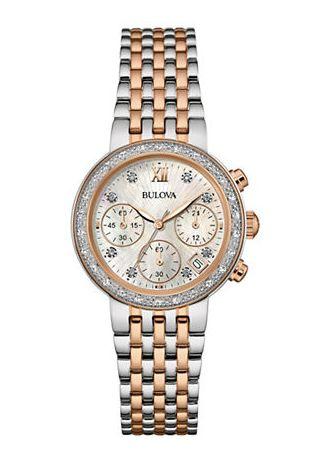 精選 18款 BULOVA 寶路華 男女時尚鑽石腕錶 4.5折清倉特賣,折後低至 101.1.24加元,包郵