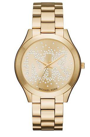 MICHAEL KORS 金色時尚腕錶 157.49加元,原價 300加元,包郵