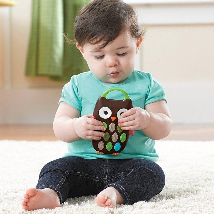 Skip Hop 猫头鹰形音乐手机玩具 11.16加元,原价 17加元