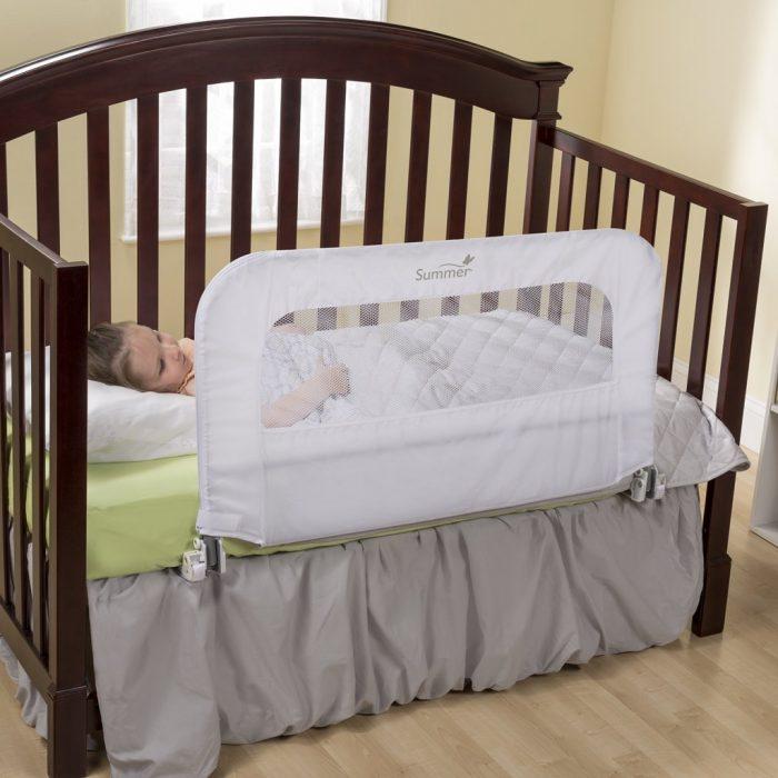 让孩子睡眠无忧! Summer Infant 12544 2合1床栏 29.99加元,原价 49.99加元