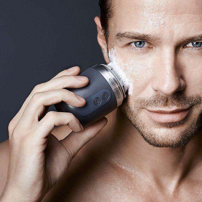 兄弟们!刷出颜值来!Clarisonic Alpha男士洗脸刷套装 7.2折 192.94加元特卖!官网价 269加元