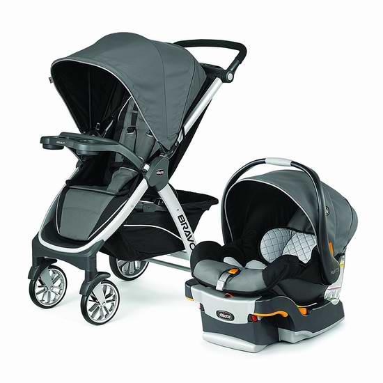 Chicco 智高 Bravo Kf30 婴儿推车提篮安全座椅旅行套装 519.98加元限时特卖并包邮!
