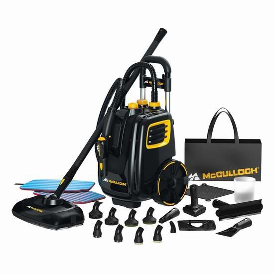 McCulloch MC1385 豪华罐式高压蒸汽去污灭菌深层清洗机 235.13加元限量特卖并包邮!