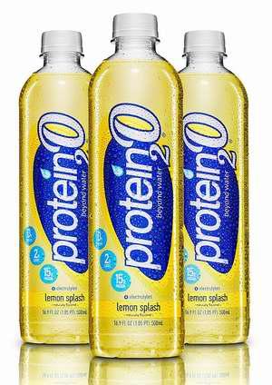 Protein2o 柠檬味蛋白质水(500ml x 12瓶) 23.76加元限量特卖并包邮!