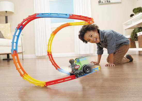 Little Tikes 小泰克 Tumble Train 疯狂旋转翻滚小火车玩具套装 4.8折 19.78加元!