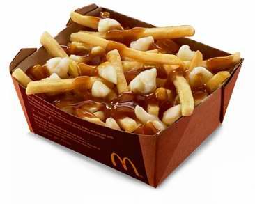 McDonald's 麦当劳 手机App专属优惠:poutine 肉汁奶酪薯条 5折特卖!