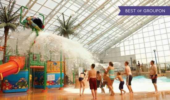 便宜又好玩!大瀑布 Americana Resort Waves 室内水上乐园门票 4.2折起!
