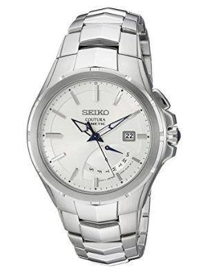历史新低!Seiko 精工 SRN063 男式时尚人动电能腕表 197.14加元限时特卖并包邮!