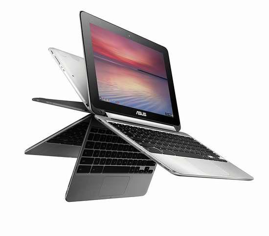 历史最低价!ASUS 华硕 Chromebook Flip 10.1英寸笔记本电脑 299.99加元包邮!