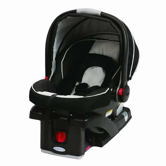 历史新低!Graco 葛莱 SnugRide Click Connect 35 经典款 超轻婴儿汽车安全提篮 179.87加元限时特卖并包邮!