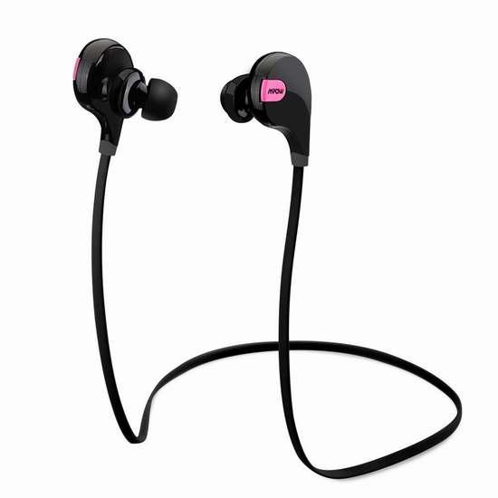 金盒头条:Mpow Swift 超轻便蓝牙4.0无线运动耳机 17.99加元限时特卖!