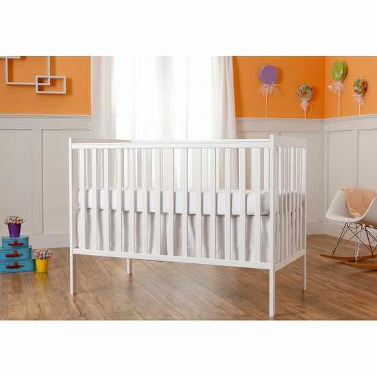 历史新低!Dream On Me Synergy 五合一多功能成长型实木婴儿床5.1折 149.99加元限时特卖并包邮!