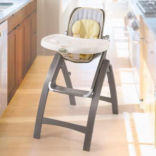 历史新低!Summer Infant 成长型曲木婴幼儿高脚餐椅 112.99加元限时特卖并包邮!