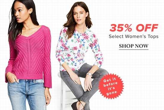 精选2993款 Calvin Klein、Karl Lagerfeld Paris 等品牌女式时尚上装、春夏装新品全部6.5折限时特卖!