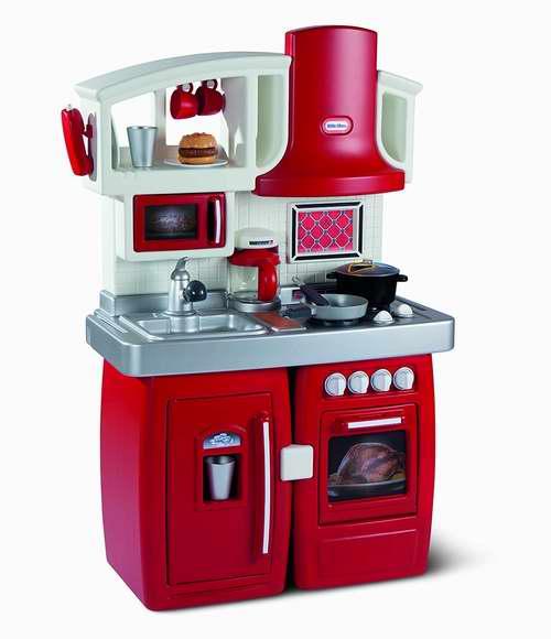 Little Tikes 小泰克 Cook N Grow 二合一双模式成长型 儿童过家家厨房 99.5加元限时特卖并包邮!