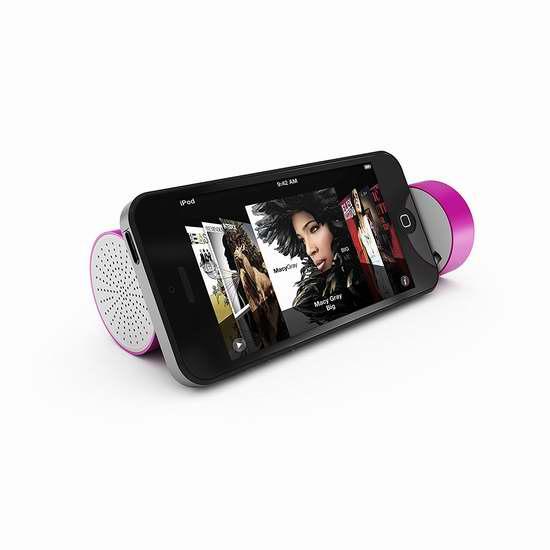 历史新低!Hipstreet 二合一 便携式迷你音箱+充电宝1.7折 5.99加元限时清仓!