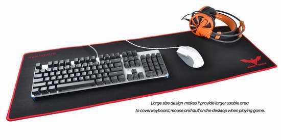 HAVIT HV-MP830 Magic Eagle 超大专业游戏鼠标垫 11.04加元限量特卖!