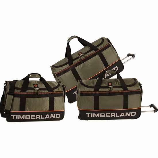 售价大降!历史新低!Timberland Kangamangus 22/26/30英寸拉杆行李包三件套2.6折 69.71加元限时清仓并包邮!