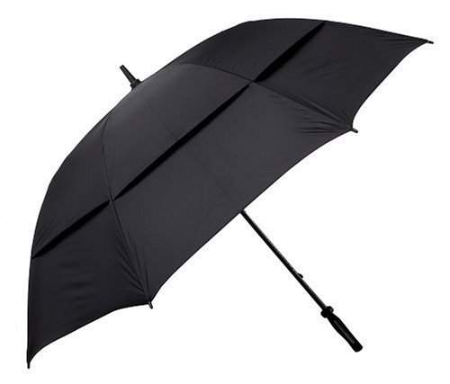 历史新低!Golf Gifts & Gallery 530BK 62英寸双层抗强风雨伞4.8折 16.88加元限时特卖!