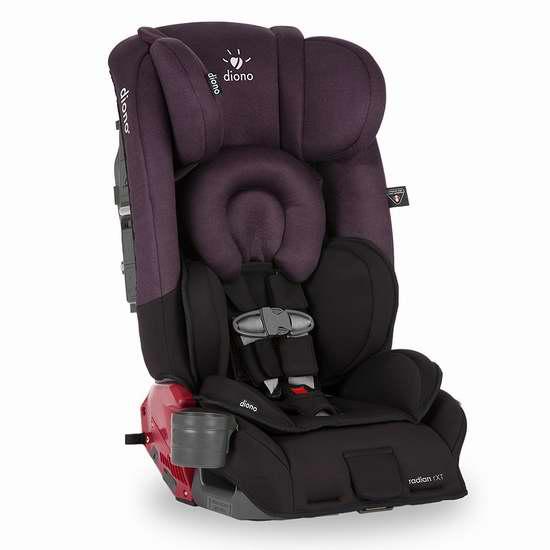 新款 Diono 谛欧诺 Radian RXT 成长型儿童汽车安全座椅 338.39加元限时特卖并包邮!5色可选!