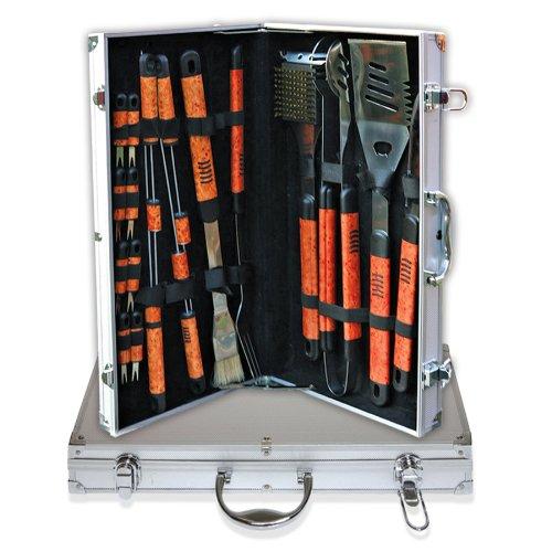 历史新低!Deluxe Comfort Pushette 专业BBQ烧烤工具18件套2.4折 19.85加元限时清仓!