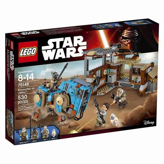 历史新低!LEGO 乐高 75148 星球大战系列 贾库星奇遇积木套装(530pcs)5折 37.5加元包邮!