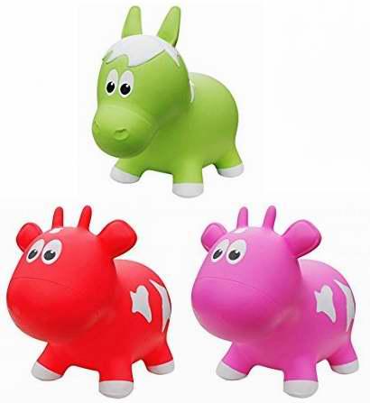Farm Hoppers 充气式儿童跳跳乐/卡通动物坐骑6折 29.97加元限时特卖!三款可选!