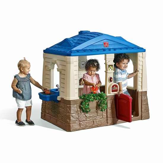 Step2 Neat & Tidy 儿童玩具房4.3折 129.97加元限时特卖并包邮!