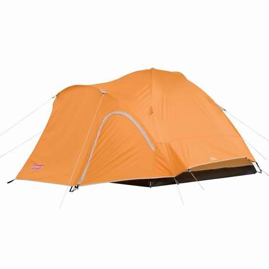 历史新低!热销款 Coleman Hooligan 3人家庭野营帐篷6折 97.89加元限时特卖并包邮!