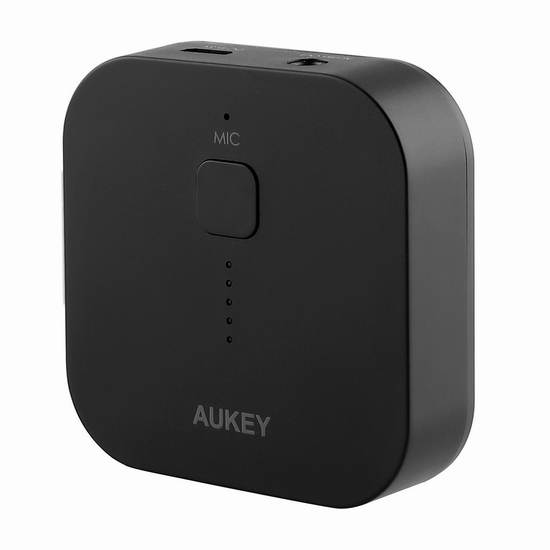 AUKEY BR-C1 蓝牙无线适配接收器 16.99加元限量特卖!