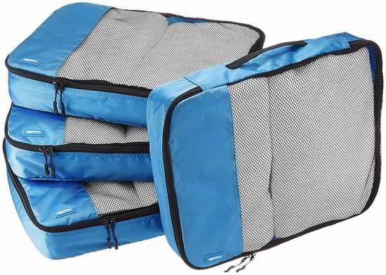 售价大降!历史新低!AmazonBasics 大号旅行衣物收纳袋/行李袋5.2折 17.15加元限时特卖!Prime会员降为 13.72加元包邮!