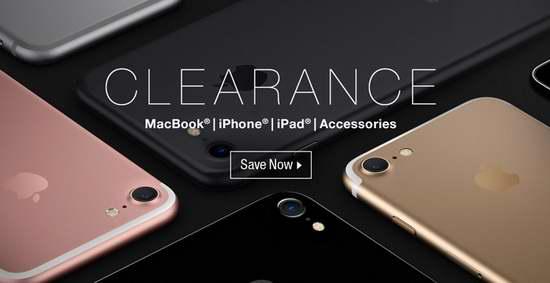 精选94款 MacBook、iPhone、iPad 及苹果相关数码产品3折起清仓!