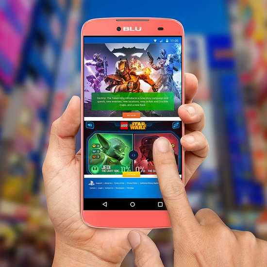 历史新低!BLU Dash X Plus 5.5英寸解锁版智能手机 88.38加元限时特卖并包邮!