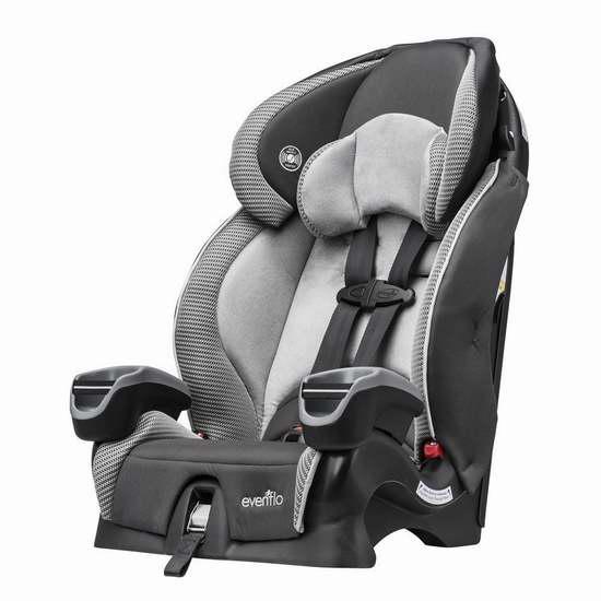 Evenflo Maestro Harnessed 儿童增高型汽车安全座椅 99.97加元包邮!会员专享!