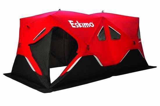 售价大降!历史新低!Eskimo Fatfish 9416 9人冰钓帐篷 319.99加元限时特卖并包邮!