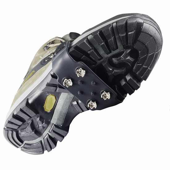 YUEDGE 4 Steel 冬季防滑鞋套 10.99加元限量特卖!