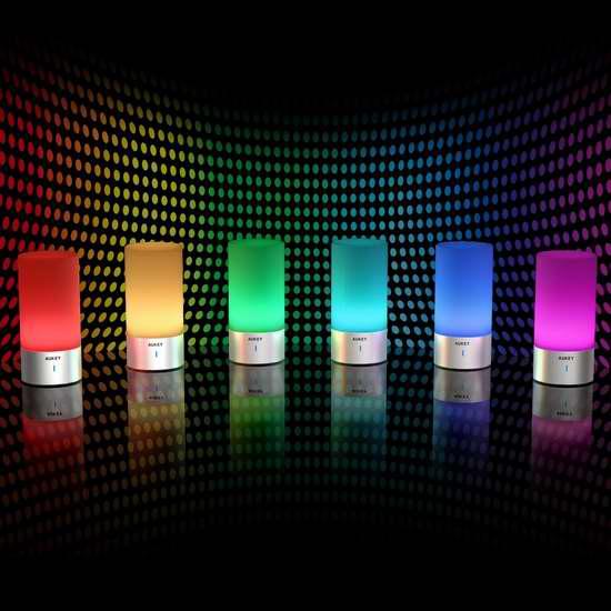 AUKEY LT-T6-CA 多用途触控式 可变色 台灯/床头灯 37.99加元限量特卖并包邮!