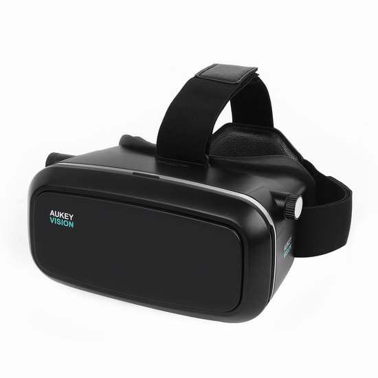 AUKEY VR 3D虚拟现实眼镜(3.5-6英寸) 24.99加元限量特卖!
